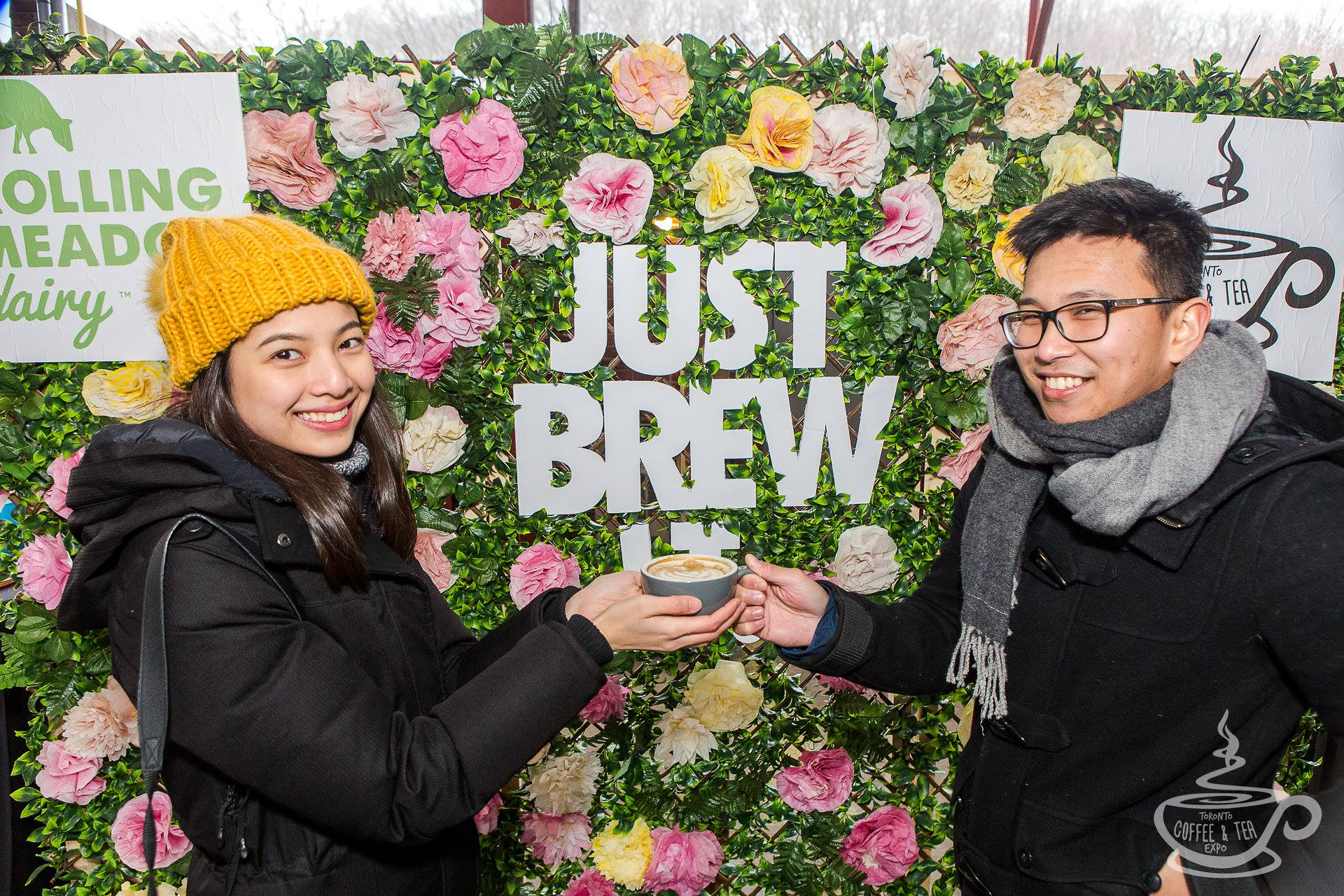 Just Brew It-activation at the 2018 Toronto coffee and tea expo