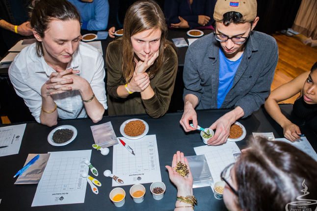 Tea Tasting Judges